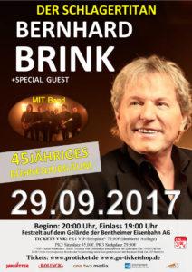 Bernhard Brink Plakat